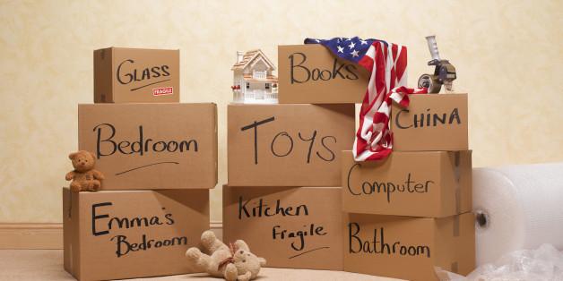American house move