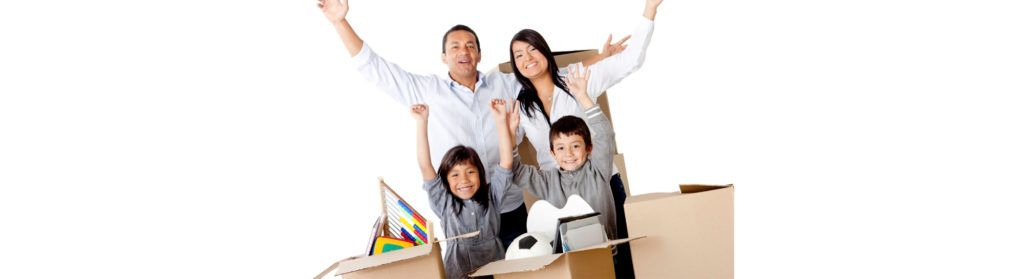 Family moving into new home - Tarrant County - Fort Worth Movers